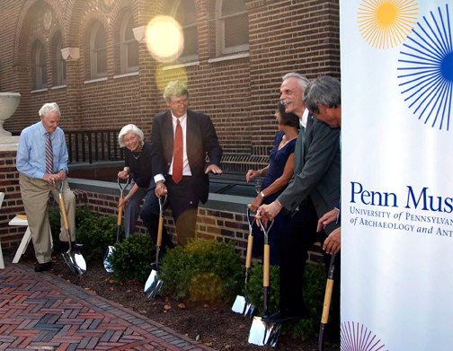 Ground Breaking for the West Wing Construction Project