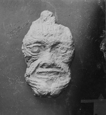 Portion of field photo nr. 38 showing object nr. U.72. Click photo to go to current Penn Museum record for this object.