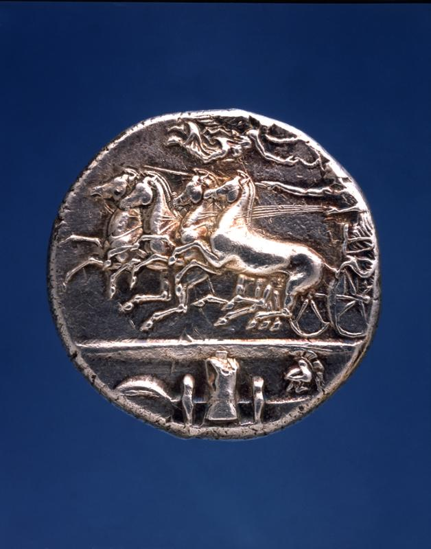 Decadrachm Coin from Syracuse, 400 BCE