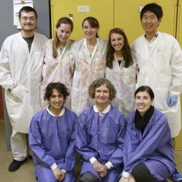 Team Pachacamac (Top left) Jacob Bridy, Elizabeth Levitz, Laura Walsh, Nicole Bull, Hong-Gyu Shin (Bottom left) Elissa Meyers, Fran Baas, Ainslie Harrison