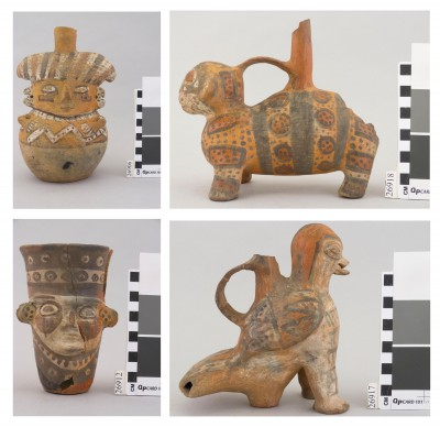 Examples of photographs taken for the Pachacamac ceramics survey