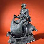 Selenus Riding a Wine-Skin