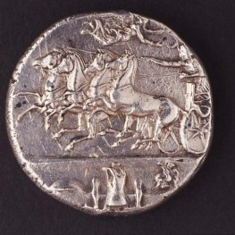 Coin from Classical Greek period