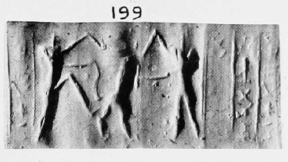 Roll-out in plaster of B15723 (from UE X:199). The publication of the seal in the 1950s shows no field number.