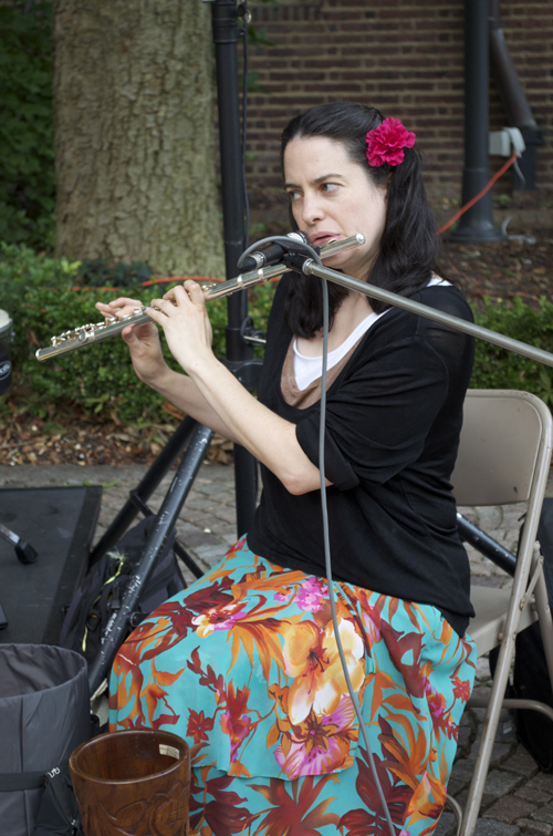 Kim DiMattia, floutist from music group Animus