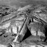Field photo number 1617: RAF photo of the Ur ziggurat in 1930