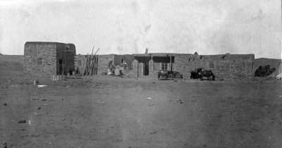 Woolley's Expedition House in 1922; field photo number 2