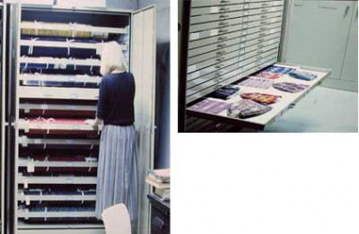 Textile storage improvements made by 1986
