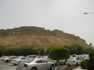 The citadel of Erbil