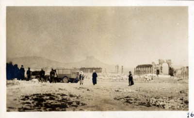 Legrain Photo of the site of Palmyra in Syria, 1926.