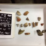 Requests to identify sherds in the museum collection.
