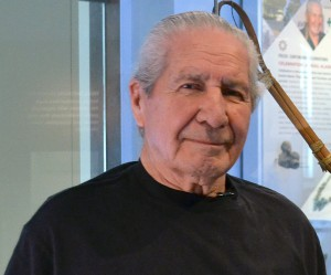 Oren Lyons at Penn Museum, April 16, 2014