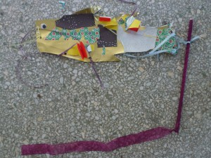 Koinobori crafted at Family Second Sunday on April 13