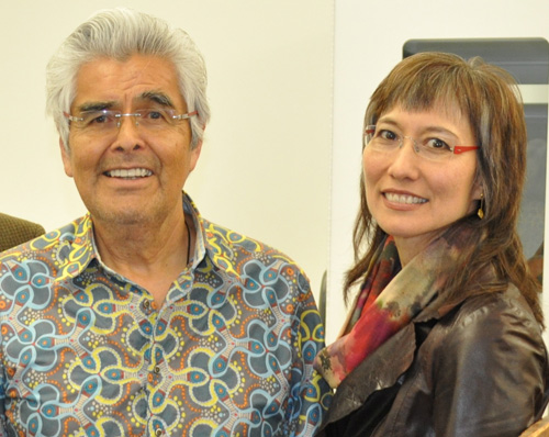 Robert Davidson is a Haida master carver, painter, and print maker from British Columbia, Canada.  His art is in museums around the world, and his newest exhibition just opened at NMAI/NYC.  He and wife, Terry-Lynn, filmed at the Penn Museum in April.