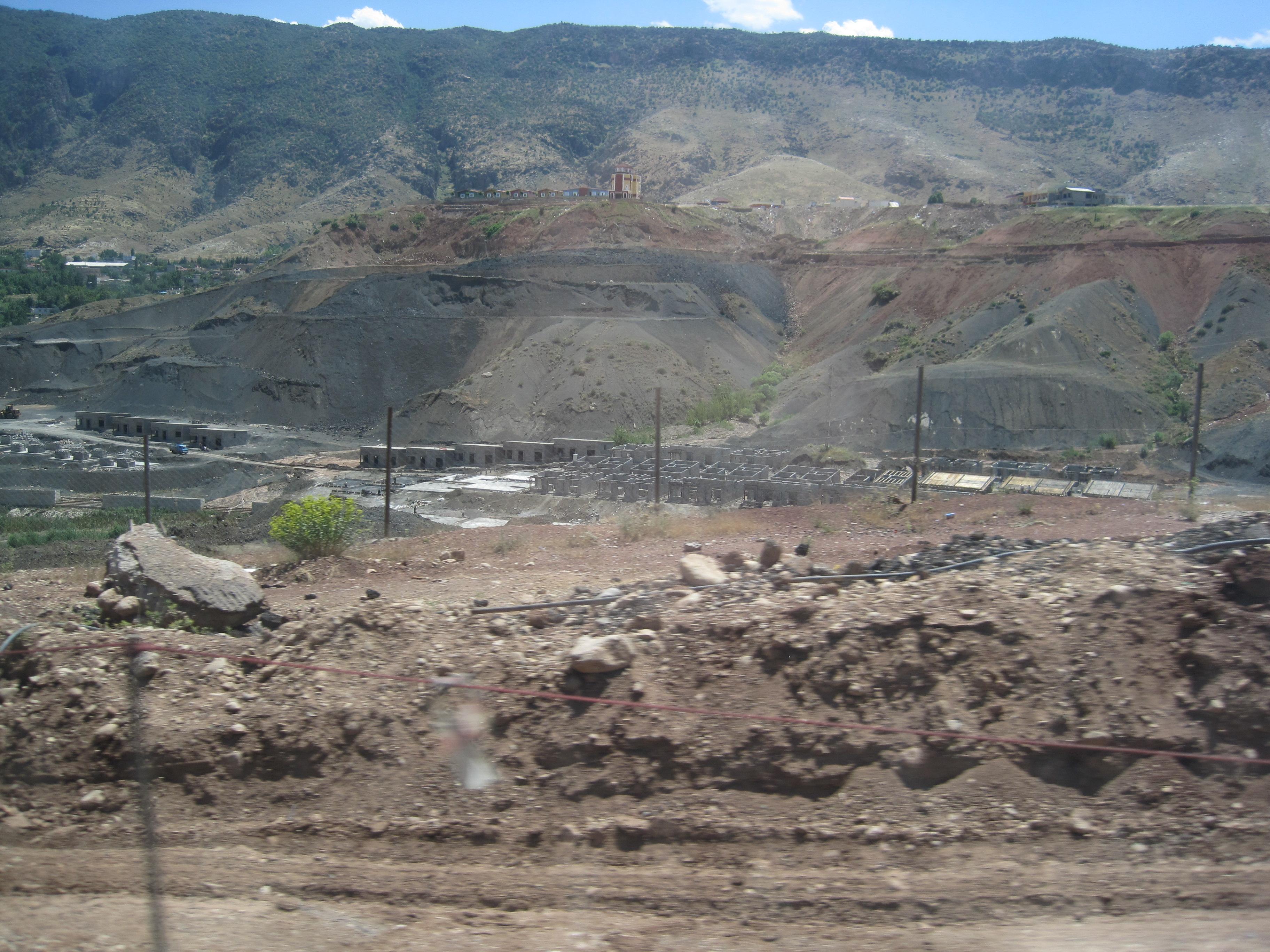 Construction near Shaqlawa