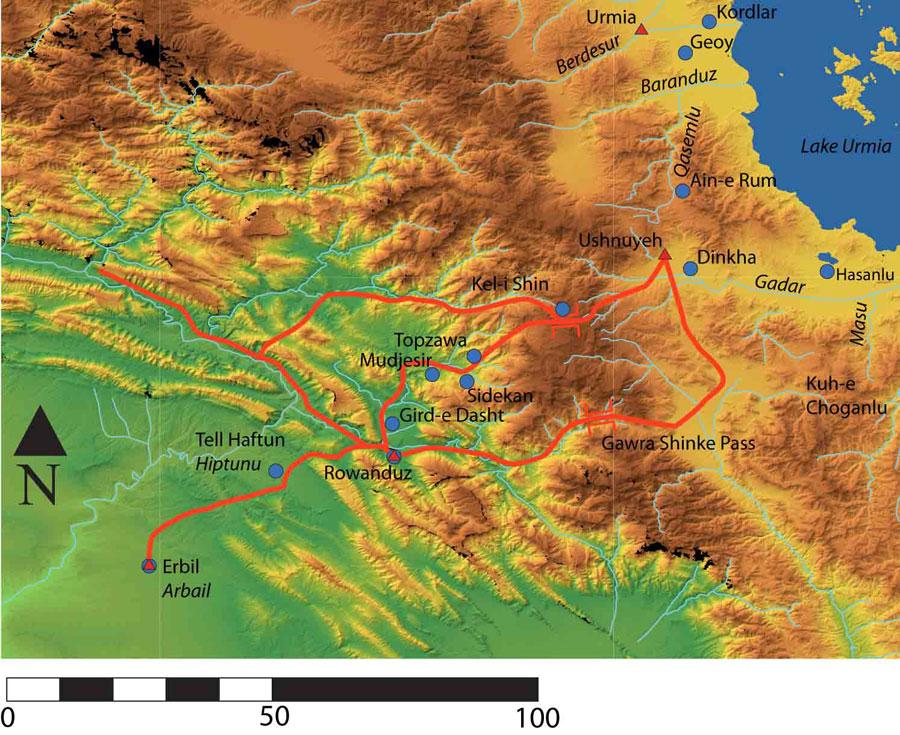 Iraqi Kurdistan, northeast Irac