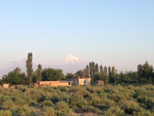 Mount Ararat (view from Sədərək Settlement)