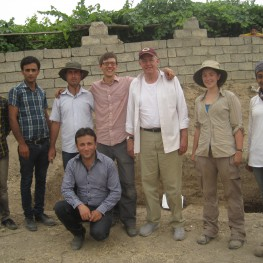 The excavation team at Banahilk