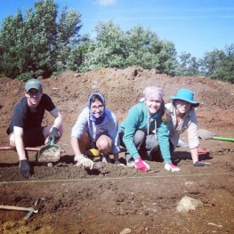 Digging on site!