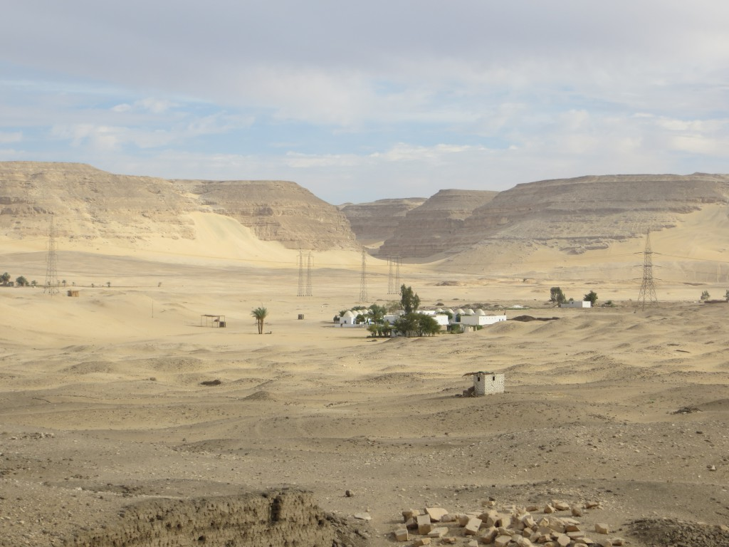 Home Sweet Home, the American Dig House at Abydos