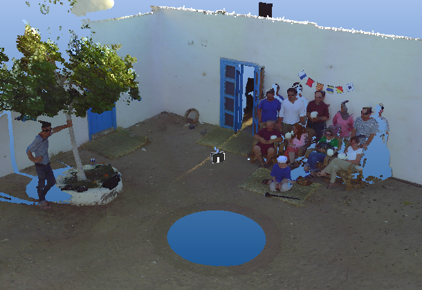 The Team Hafla Group LiDAR scan