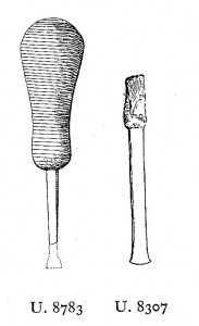 Publication of the tool, in Ur Excavations volume 2, plate 229.