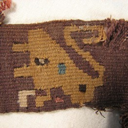 Border Textile, Andean, Peru. Museum Object Number: 29684