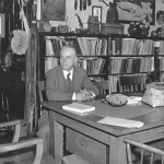 Frank Speck in his office in College H