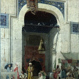"""At the Mosque Door"""