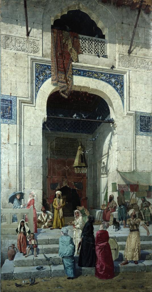 """""""At the Mosque Door"""""""