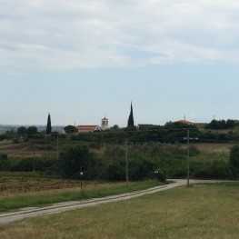 Pagouria from a distance. Photo by Amanda Ball.