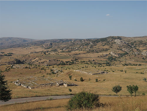 There is no way to convey the full glory and beauty and varied terrain of Boğazkale
