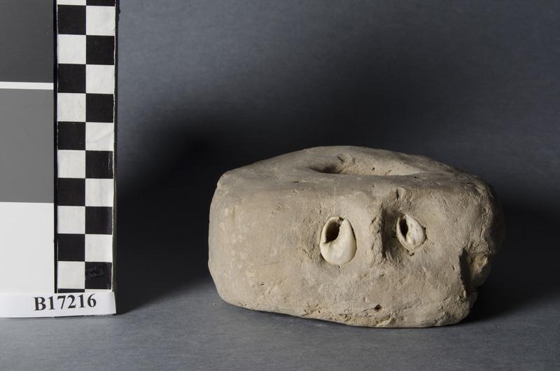 Modern photo of the artifact in the Legrain card. Penn Museum No. B17216