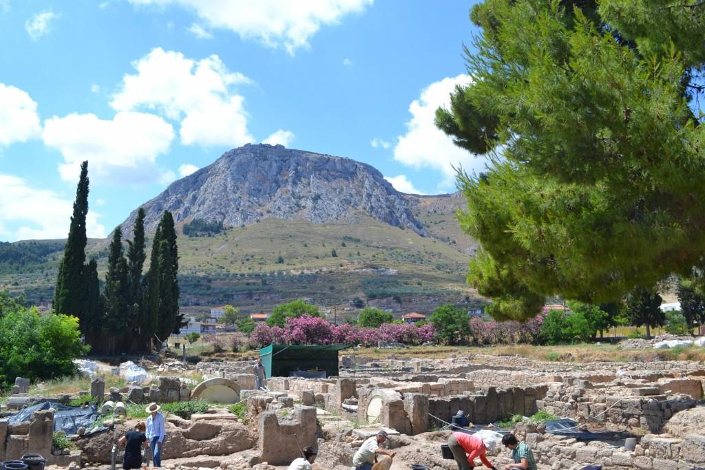 Frankish Quarter, Corinth, Greece. Photo Credit: Anna Sitz
