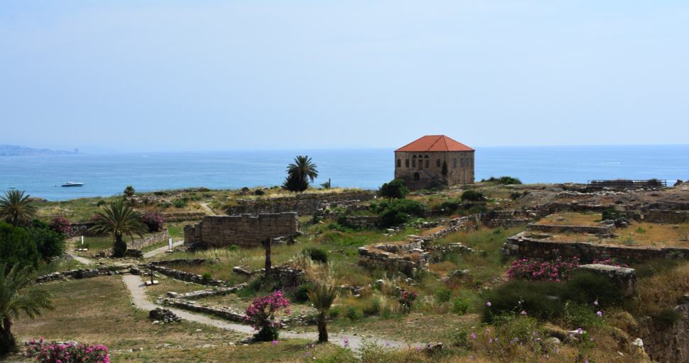 View of Byblos, Excavated out in 2015