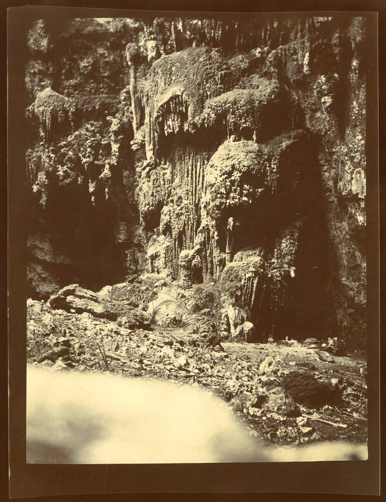 Cave at Monte Libano. Source of the Guaso River. Taken by Stewart Culin during his 1901 trip to Cuba.