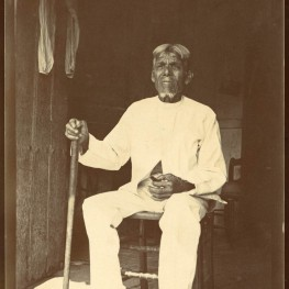 Jose Almenares Arguello, El Caney, Cuba. Almenares claimed to be 112.  Penn Museum image no. 240597A