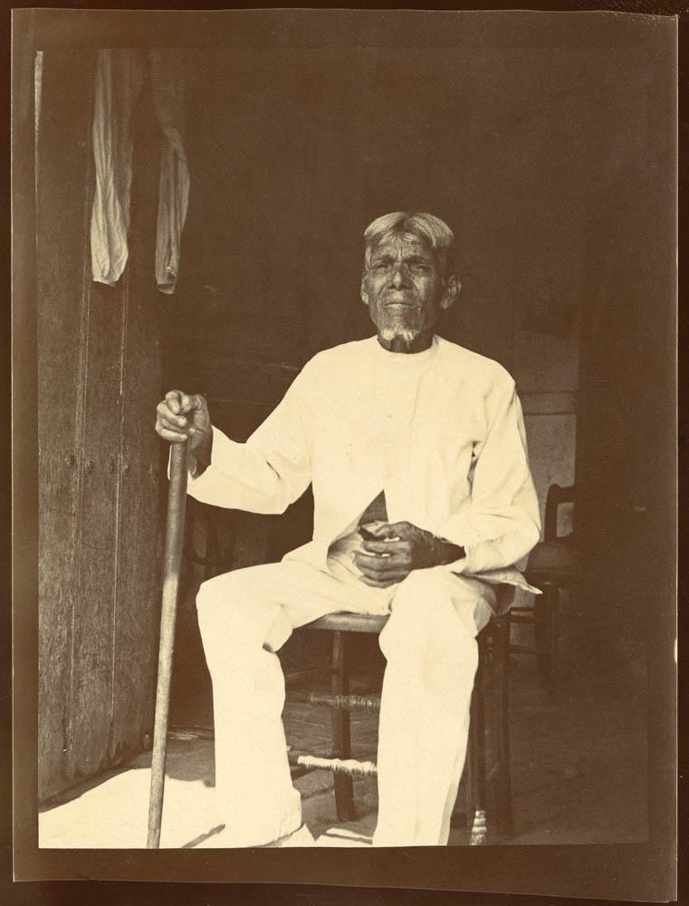 Jose Almenares Arguello, El Caney, Cuba. Almenares claimed to be 112. Penn Museum image no. 240597A