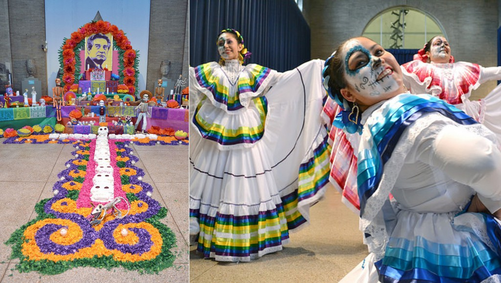 Day of the Dead celebrations at the Penn Museum in 2014