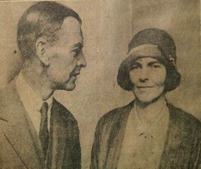 Katharine and Woolley 1929