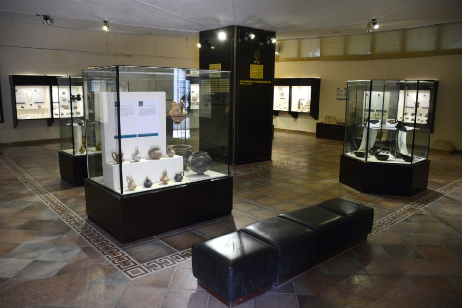 The front gallery of the Gordion Museum.