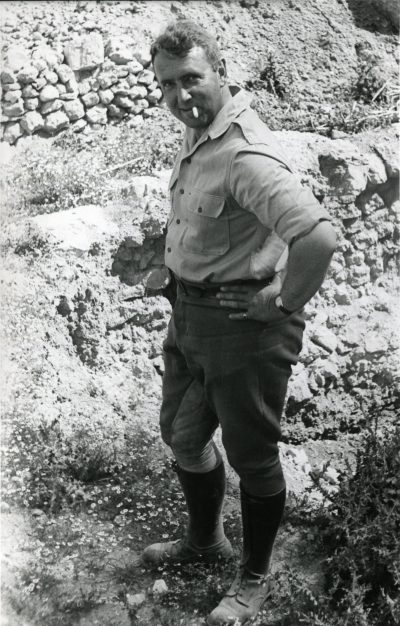 Dr. Rodney Young, the original Director of the Gordion Archaeological Project. Photo courtesy of the Gordion Archive.