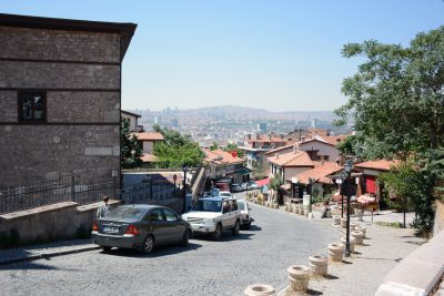 A view of Ankara.
