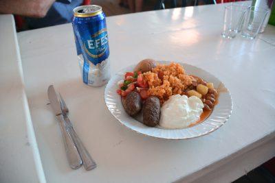 Dinner…