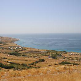 View from atop the Urartian site of Ayanis.  Photo credit: Rachel Cohen.