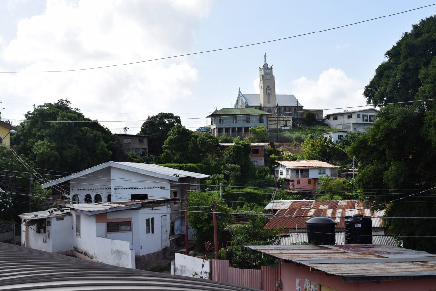 View of the Picton neighborhood in Laventille hills. Photo by Leniqueca Welcome.