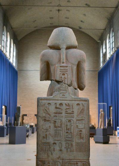 Back of Seated Ramses II