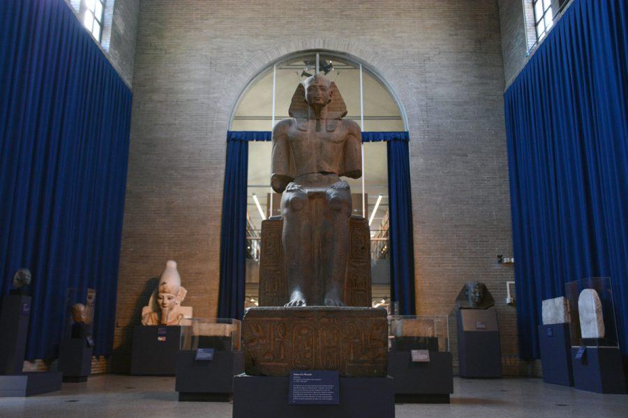 Seated Ramses II