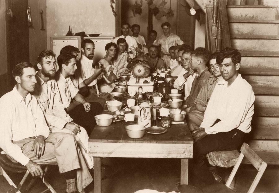 Dinner at Descalvados