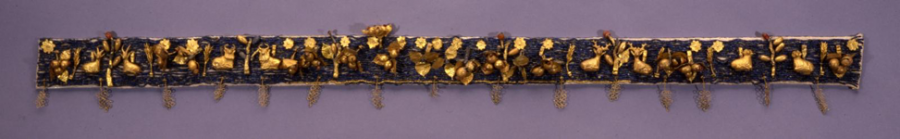 Woolley's reconstruction of the diadem